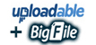 uploadable + Bigfile